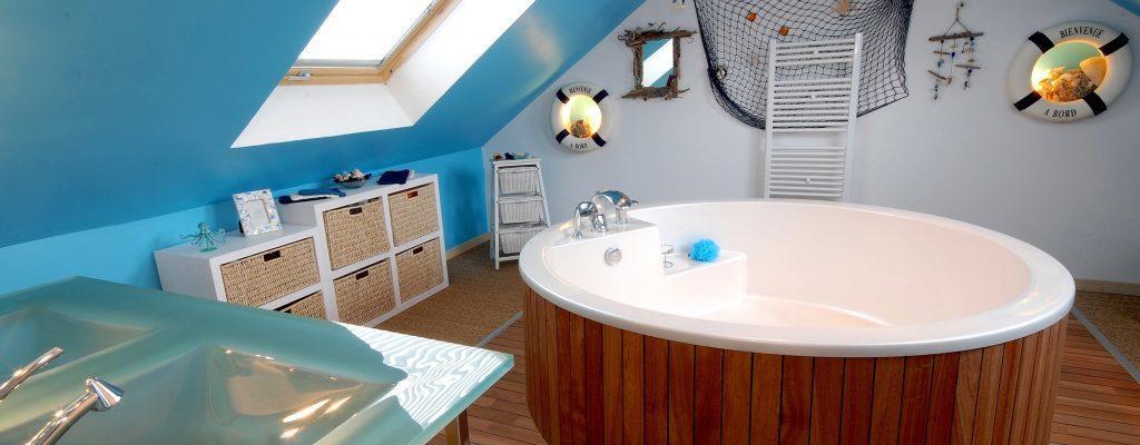 salle bain sous combles