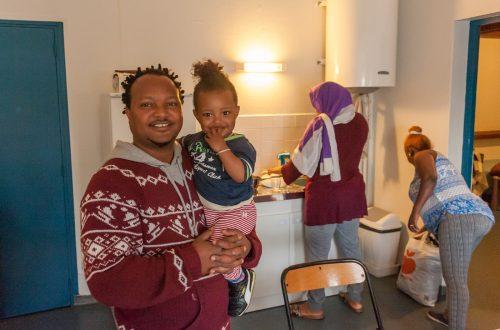 famille d'accueil dans leur domicile famillial